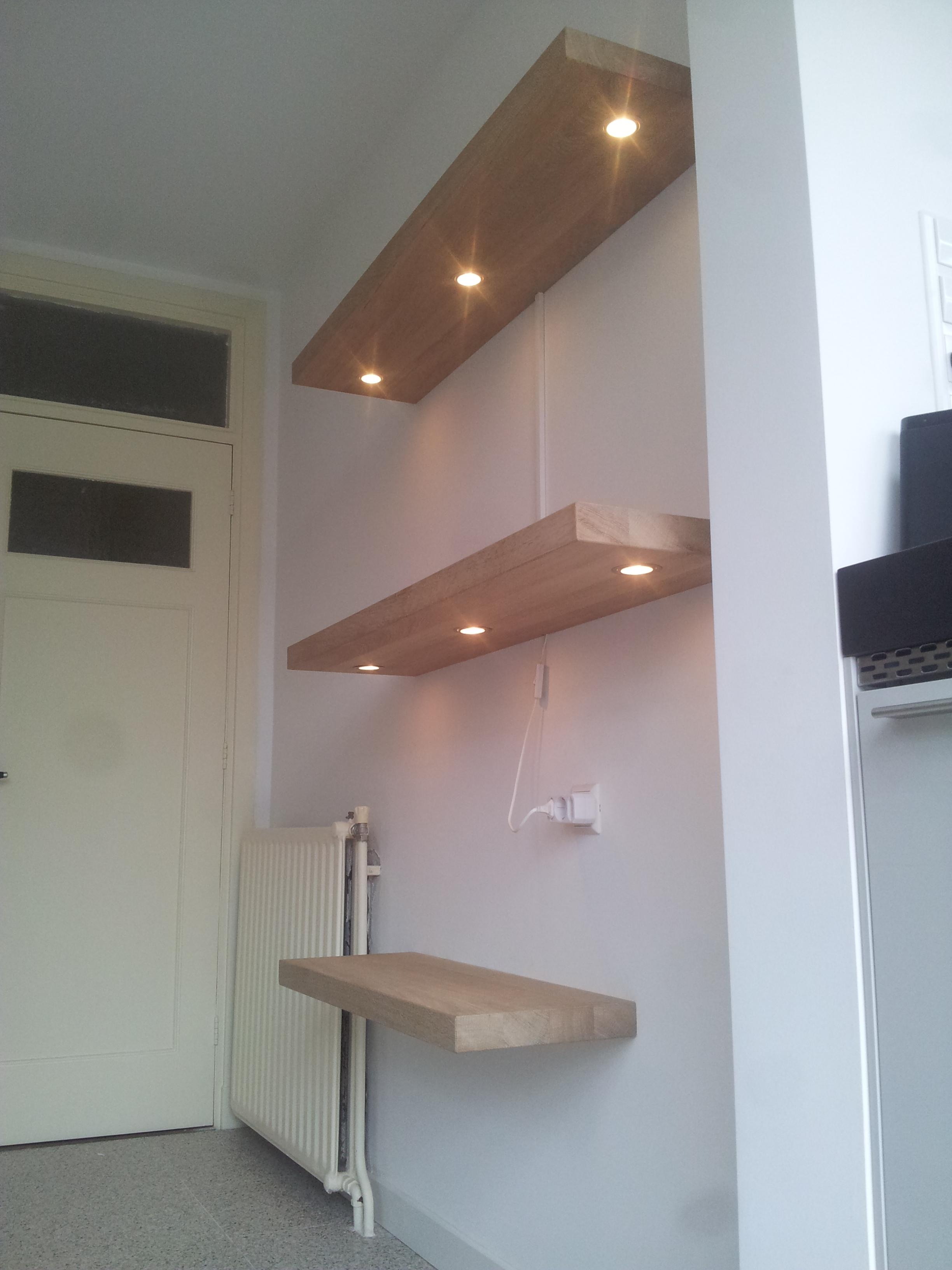 Plank Muur Bevestigen.Wandplank Blind Bevestigen Wandplank Industrial Steigerhout Te Koop