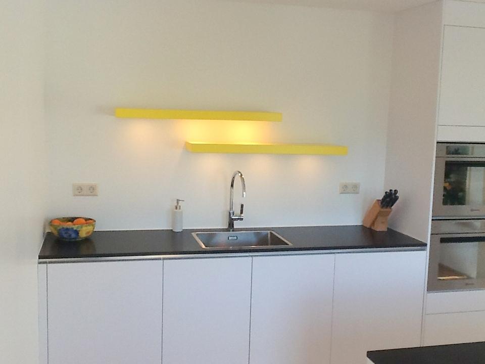 Wandplank Met Verlichting Keuken.Blinde Wandplank Met Verlichting Simple Wandplank Montage Op