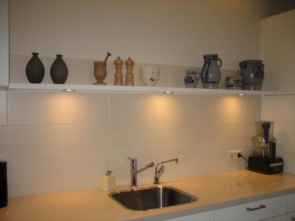 Portfolio verlichting blindewandplanken for Verlichting keuken